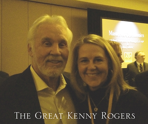 Muffet Meets the Great Kenny Rogers at IUSA